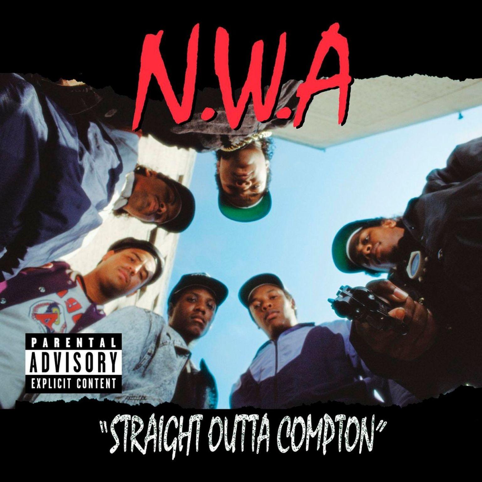 NWA – Straight Outta Compton – Album Cover