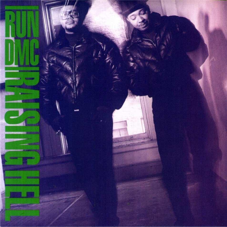 Run DMC – Raising Hell Album Cover